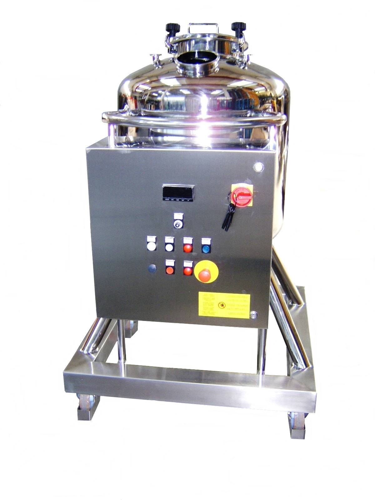 Movable tank with electrical cabinet 200 Lt - View B