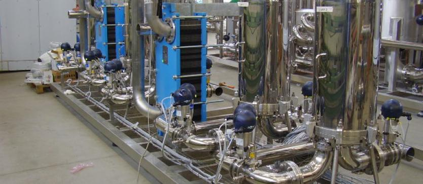 Filtration and cooling mineral water