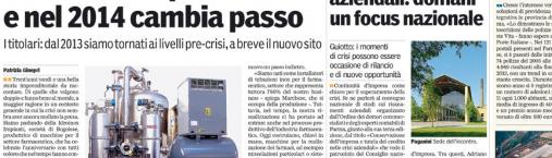 """Gazzetta di Parma"" speaks about us!"