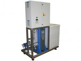 Ozone gas generator by sewage decolourization
