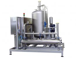 60.000 lit/h Ozone generator for water treatment equipped with UV treatment unit