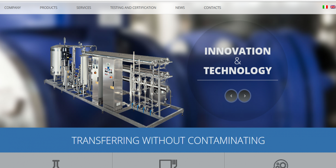 Idroinox Impianti Srl is online with a new website!