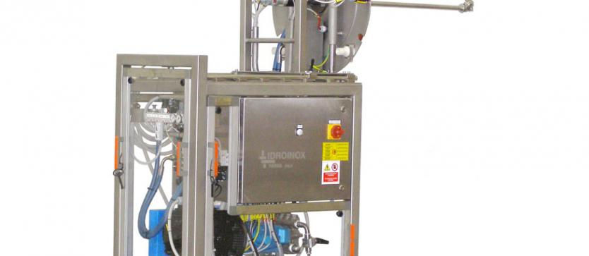 Wheeled counting pan washer