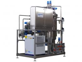 Hot/cold thermostat control Skid for high fruit