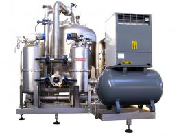 100.000 lit/h water treatment ozone generator