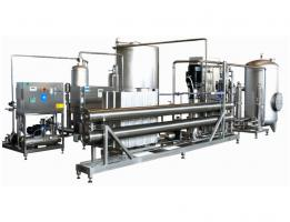 Double-stage with prefiltration, ozone treatment