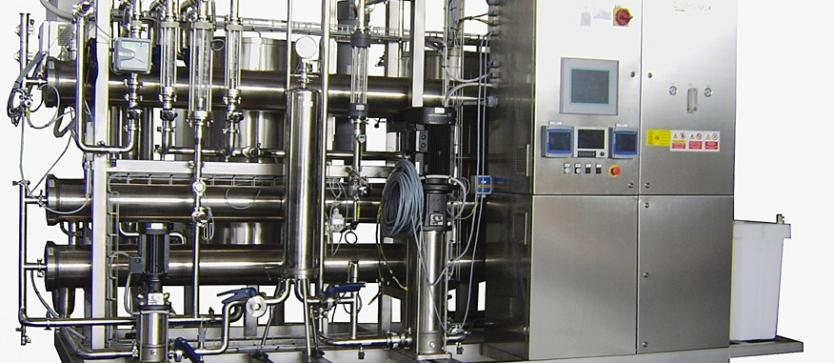 Double Pass with pre-filtration, capacity 3m3/h