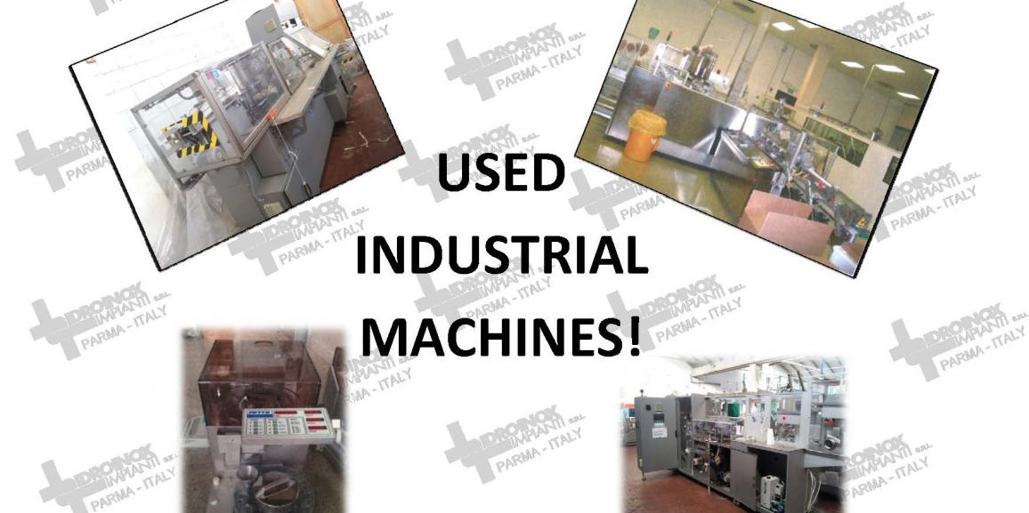 Idroinox Impianti Srl offers used industrial machines!