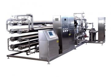 Double-stage with prefiltration, capacity 100 m3/h