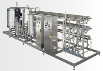 Double-stage with prefiltration, capacity 60m3/h