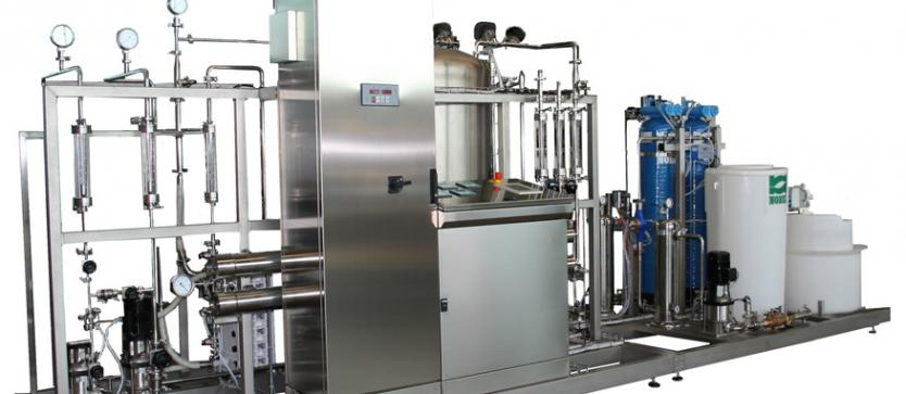Reverse Osmosis with pretreatment and E.D.I.
